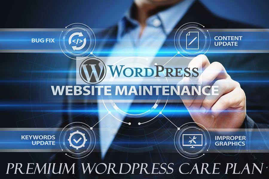 WordPress website care & maintenance plans